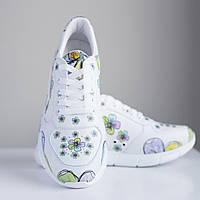 """Медицинские кроссовки для женщин  """"Flowers"""", 37 и 38"""