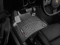 Коврики Volkswagen Touareg   Porsche Cayenne 2010-2018 передние черные   Автоковрики WeatherTech 443331