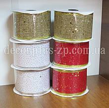 Лента-мешковина для декора 5см, 2,7м, в ассортименте
