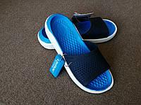 Шлёпанцы Crocs LiteRide Slide синие 36 разм.