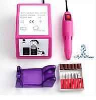 Фрезер для манікюру Lina Mercedes 20000 обертів рожевий