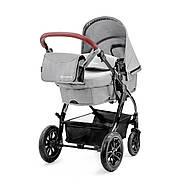 Универсальная коляска 3 в 1 Kinderkraft Moov Gray +ВИДЕО ОБЗОР, фото 2