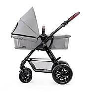 Универсальная коляска 3 в 1 Kinderkraft Moov Gray +ВИДЕО ОБЗОР, фото 3