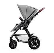 Универсальная коляска 3 в 1 Kinderkraft Moov Gray +ВИДЕО ОБЗОР, фото 5