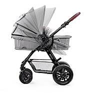 Универсальная коляска 3 в 1 Kinderkraft Moov Gray +ВИДЕО ОБЗОР, фото 8