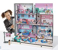 Дом для кукол лол. Домик ЛОЛ. ЛОЛ Модный особняк l.o.l LOL Surprise House. Оригінал MGA  560531Е7С, фото 1