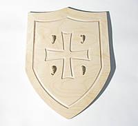 Щит Английский рыцарский  42*32 см