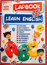 НУШ Міні-лепбук. Вивчаємо англійську. (НП)