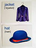 English : flashcards. Clothes. (Флешкартки. Одяг). (ПіП), фото 3