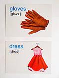 English : flashcards. Clothes. (Флешкартки. Одяг). (ПіП), фото 4