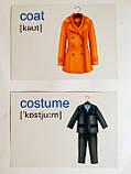 English : flashcards. Clothes. (Флешкартки. Одяг). (ПіП), фото 5