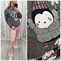Женская пижама интерлок LA-0567, фото 1