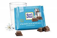 Шоколад Ritter Sport Alpen Milk Chocolate 100 г.