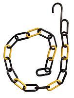 Торговая пластиковая цепь 95см с крючком