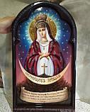 Икона писаная Остробрамская Божья Матерь, фото 4