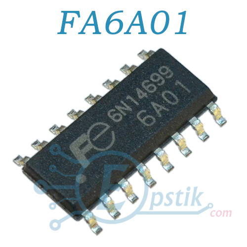 FA6A01, (FE6A01), ШИМ контроллер, SOP16