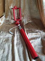 Палка для селфи 100 см красная