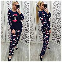 Женская махровая пижама Pijamoni Турция