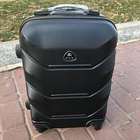 Мужской дорожный чемодан на колесах Fly 31 л (маленький) черный