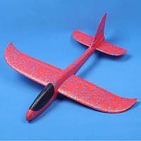 Метательный пенопластовый Планер-Самолет «FAYNAPLAN» v 2.0 48см. красный