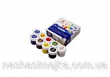 Краски гуашевые Луч Классика 9 цветов 20 мл в картонной упаковке