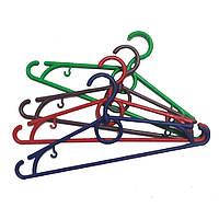 Цветные плечики вешалки 30см для детской одежды