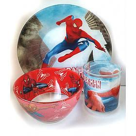Набор детской посуды Украина ТД из 3 предметов Человек Паук
