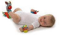 Носки - игрушки погремушки для детей (Пара носков)