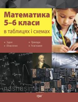 Математика в таблицях і схемах. 5-6 класі. (Торсінг)