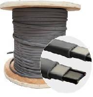 Нагревающий саморегулирующийся кабель для обогрева пола и труб водоснабжения мощность 40 Вт/м