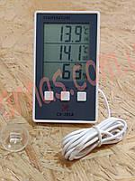 Термометр-гигрометр cx201A цифровой c выносным датчиком