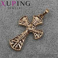 Крестик Xuping медицинское золото 18K Gold -1020050231