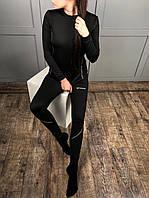 Термобелье женское черного цвета