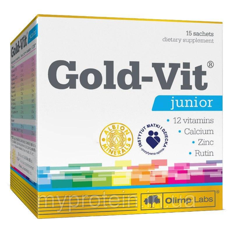 OLIMPВитамины для детейGold-Vit junior15 sachets