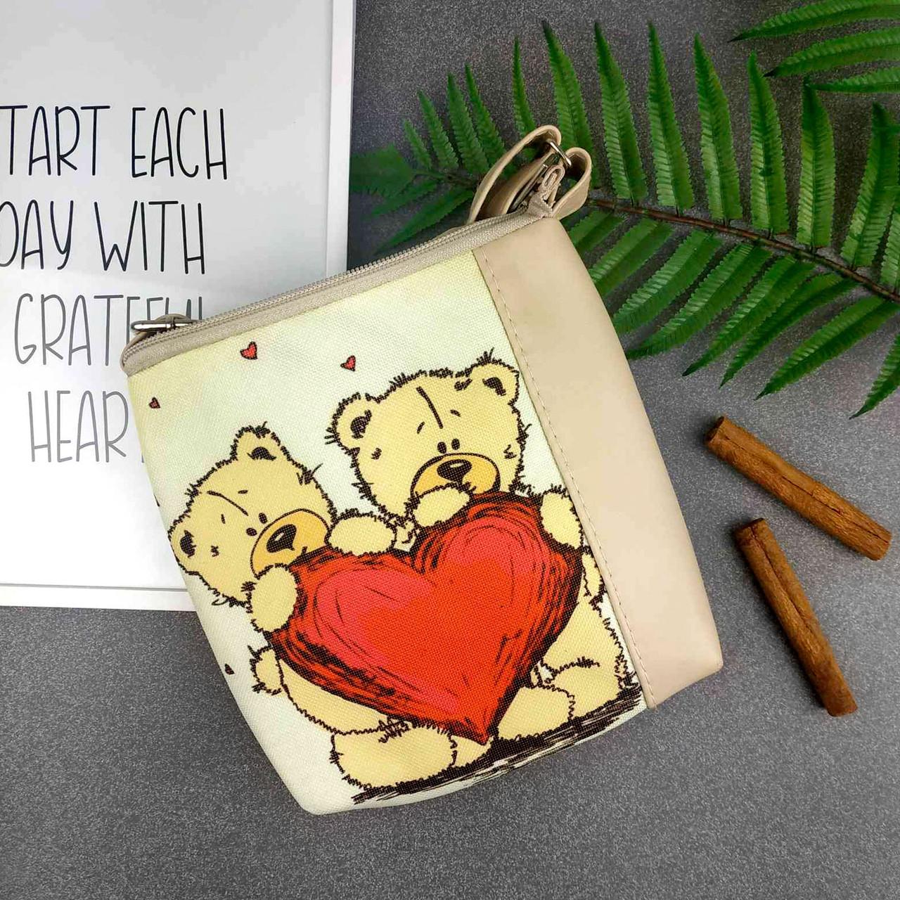 Детская сумочка для девочки Mini Miss с принтом Мишки