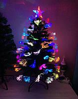 Елка новогодняя, светящаяся оптоволоконная 90 см