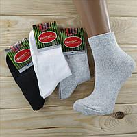 Демисезонные хлопковые носки женские Мантекс 23-25 размер