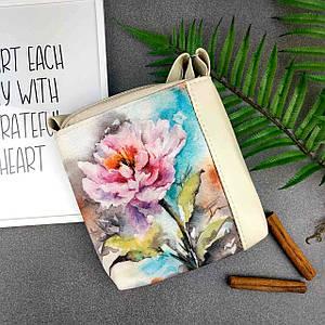 Сумочка для девочки с цветочным рисунком