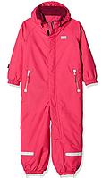Зимний мембранный комбинезонLEGOWear Tec(Дания) для девочки 92, 98 см сдельный однотонный розовый