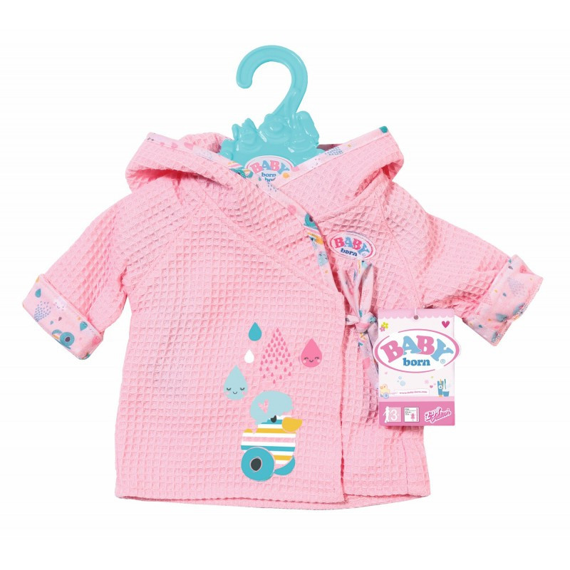 Халат для куклы 43 см Baby Born Zapf Creation 827505