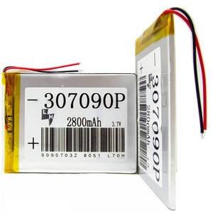 Аккумулятор встроенный универсальный емкость  3500mAh 3,7V (04*65*95)