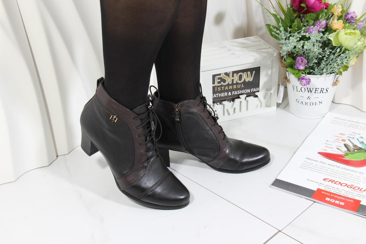 Женские кожаные ботинки Battine B465