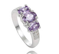"Кольцо ""Purple"" 925 Sterling Silver, фото 1"