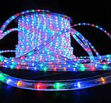 Треугольная светодиодная лента, RGB 18М, 6 ЦВЕТОВ (7196) /Новогодняя светодиодная гирлянда-лента 10M RGB, фото 4