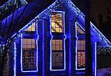 Треугольная светодиодная лента, RGB 18М, 6 ЦВЕТОВ (7196) /Новогодняя светодиодная гирлянда-лента 10M RGB, фото 8