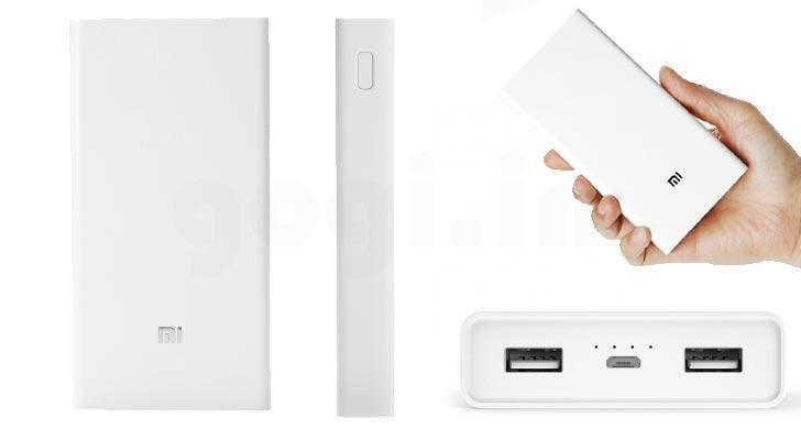 Внешний аккумулятор Xiaomi Mi Power Bank 20000 mAh | Реплика