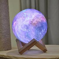 Ночник настольный луна, светильник на сенсорном управлении