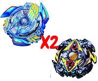 Набор волчков BEYBLADE (Бейблейд) Victory Valkyrie B-34 (Волтраек)  VS Zillion Zeus B-59 (Зиллион Зейтрон) с пускателями, фото 1