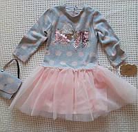 Нарядное платье для девочки 98, 104, 110р