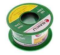 Припой BAKKU проволочный Solder wire BK10002 DIA 0.6mm (50g)